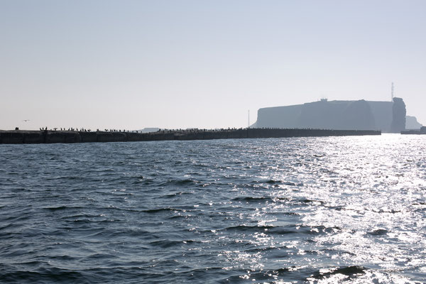 Helgoland in the Sun