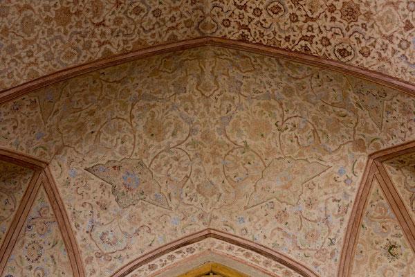 Wandmalerei, Isfahan, Iran