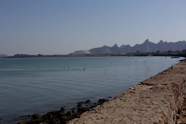 Strand, Hormuz, Iran