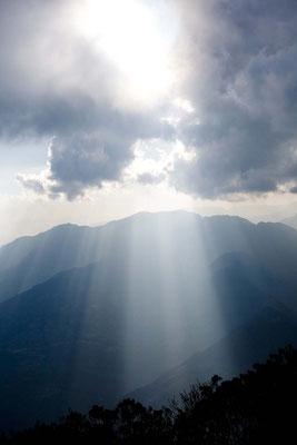Majestetischer Blick, Mardi Himal Trek, Nepal