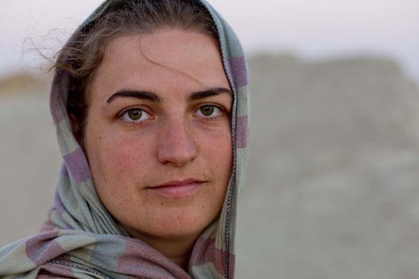 Selfportrait, Hormuz, Iran