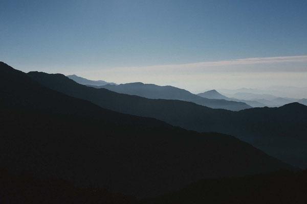 Der Blick vom Berg, Mardi Himal Trek, Nepal