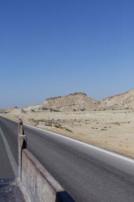 Das beste Fortbewegungsmittel, hinten auf dem Laster,  Qeshm, Iran