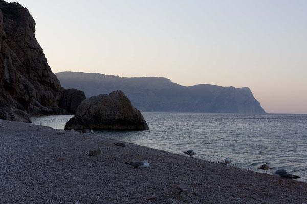 Strand Vasili, Krim, Russland