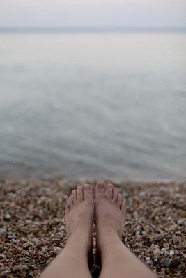 Beach Vasili, Crimea, Russia
