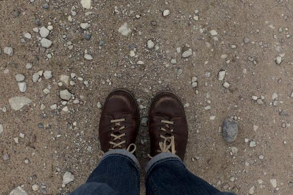 #fromwhereistand Ein Spaziergang und so viele verschiedene Böden!