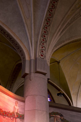 Inside the cathedral of Tampere, Finnland