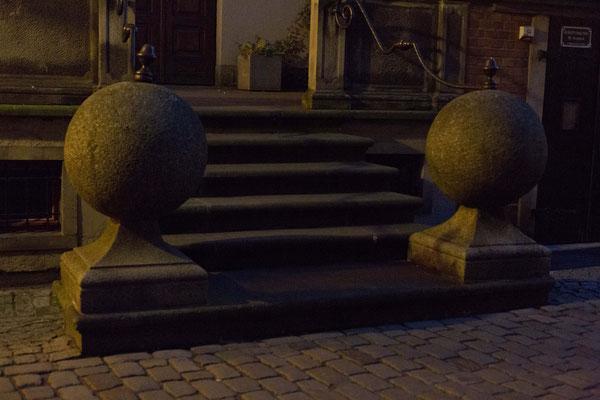 Stoop in Gdansk, Poland