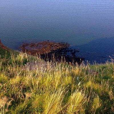Das Meer vor Helgoland