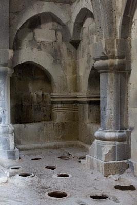 Bibliothek und SPeisekammer, Kloster Haghpat, Armenien