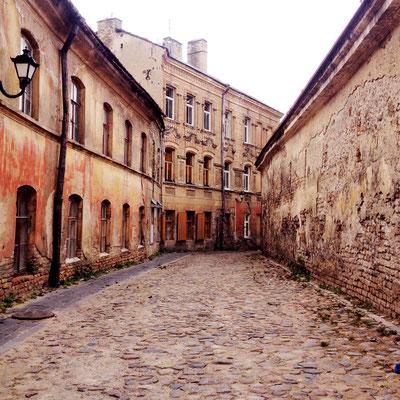 Die traurigste Straße von Vilnius