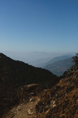 Rückblick, Mardi Himal Trek, Nepal