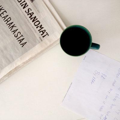 Espresso und Helsinki sanomat (Tageszeitung), Finnland