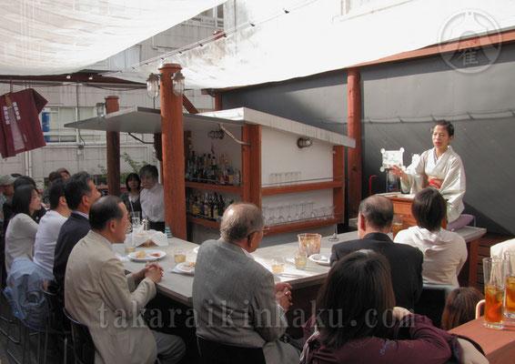 2011年 宝井琴柑講談会きんかんよみ        薫風 at The Bar Tenmer
