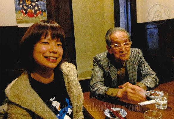 2010年 旅先にて 三笑亭笑三師匠と琴柑