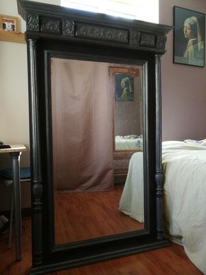 modernisation d'un ancien miroir de cheminée à Charavine