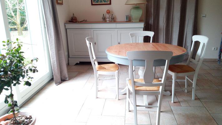 Nouvelle salle à manger à Champagnier