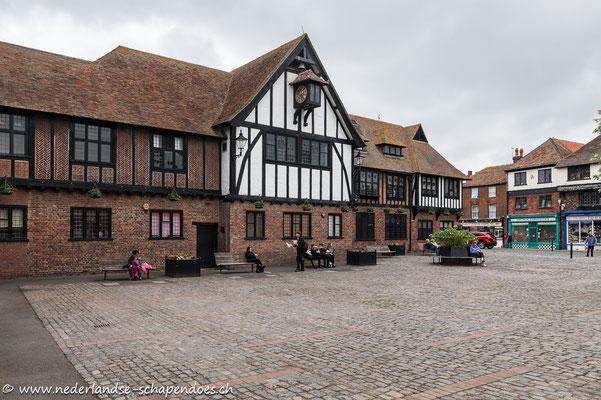 Sandwich, im Mittelalter erbaut, hier wurde das Sandwich erfunden