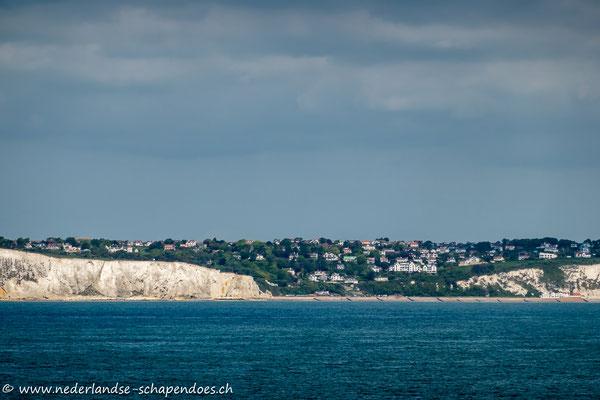 Erster Blick auf unseren Urlaubsort in der 2. Englandwoche: St. Margaret`s-at-Cliffe