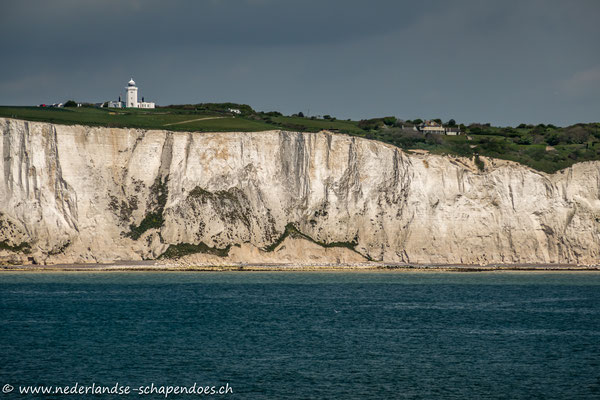"South Foreland Lighthouse auf den ""White Cliffs of Dover"""