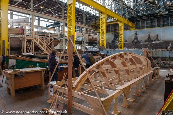 Portsmouth Historic Dockyard, Boathouse 4, International Boatbuilding Training College
