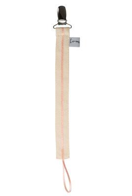 Schnullerband Line rosa