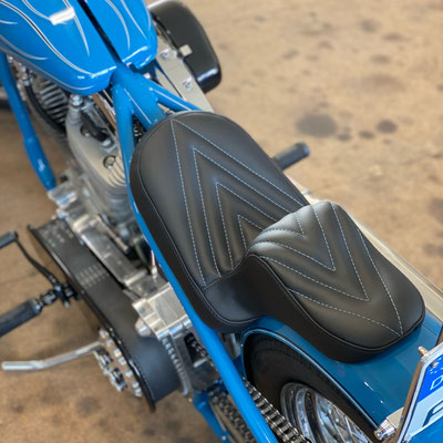 Harley Davidson - Custombike Sitzbank