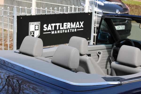 BMW 3er (E30) Cabrio - Verdeckkastendeckel in Kunstleder