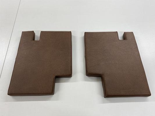 Auch passende Sitzkissen für die Kotflügel wurden angefertigt.