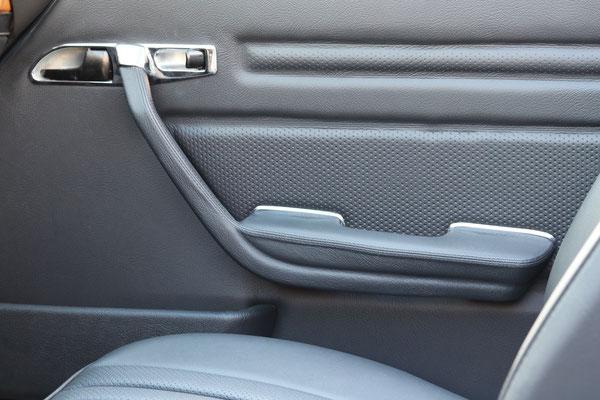 Mercedes Benz SL (R107) - Türverkleidung in Echtleder inkl. Griffe und Türtaschen