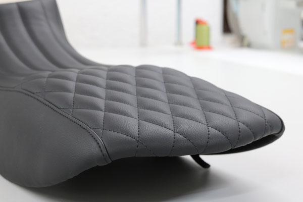 Ducati Diavel - Die Grundform wurde auf ein Minimum reduziert um ein schlankeres Design zu erreichen.