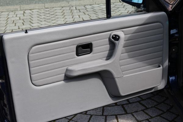 BMW 3er (E30) Cabrio - Türverkleidungen in Echtleder