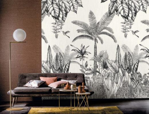 marie saiki papier peint villefranche beaujolais lyon panoramique jungle  panoramas casamance