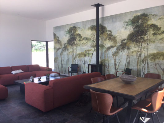 papier peint marie saiki villefranche beaujolais lyon collection Walldesign Masureel