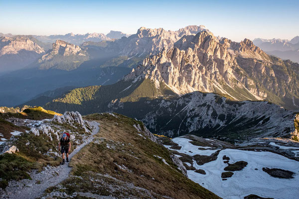 The stunning views on day 10 of Alta Via 1
