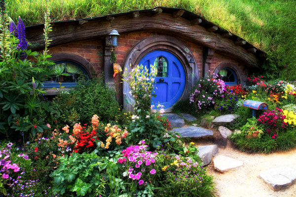2 week self drive roadtrip itinerary around New Zealand: Hobbiton