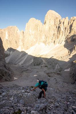Day 10 of Alta Via 2- hiking towards Passo delle Lede