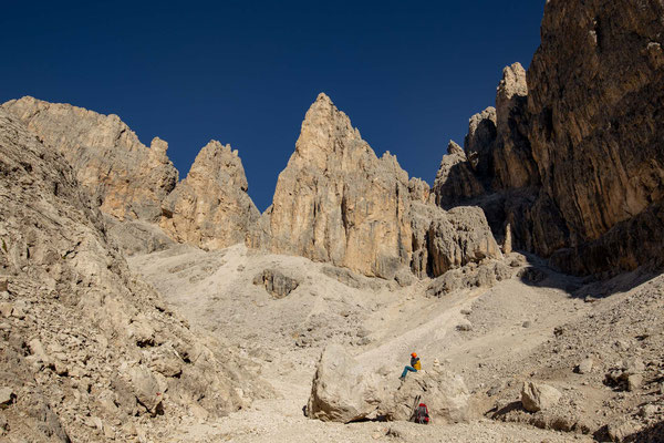 On the other side of Passo Farangole
