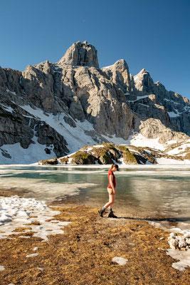Day 7 of Alta Via 1 - Lake Coldai and Mount Civetta