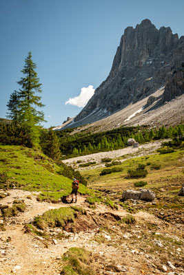 Day 7 of Alta Via 1, getting closer to rifugio Vazzoler