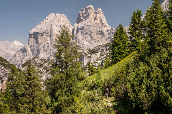 Day 9 of Alta Via 1. Hiking through the beautiful Dolomiti Bellunesi National Park