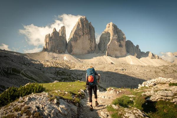Day 2 of Alta Via 4: leaving rifugio Locatelli