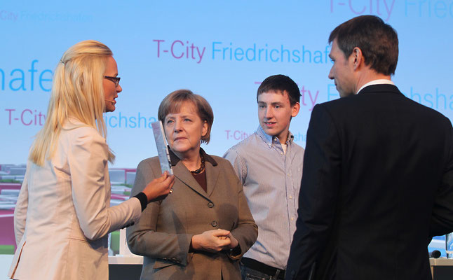 Moderatorin Annett Fleischer