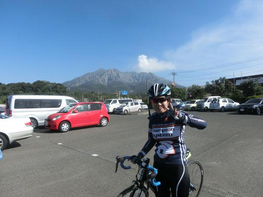 2時間ちょっとのサイクリング。 楽しい時間をありがとうございました。