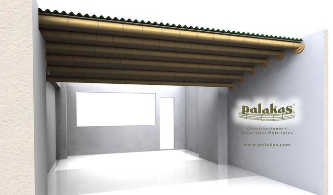 Techo Terraza 13m2 ©Palakas