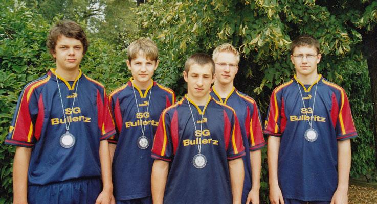 von links nach rechts: Martin Wendt, Christoph Zimmermann, Oliver Fiech, Nico Helbig, Phillip Zimmermann