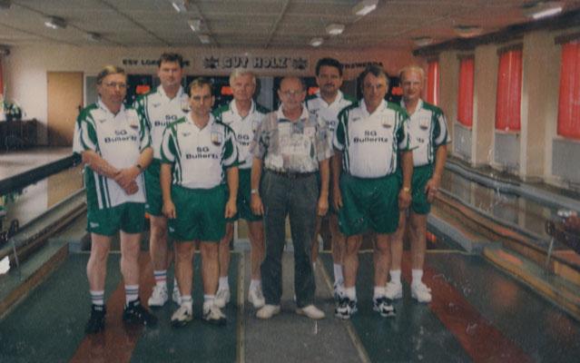 von links nach rechts: hinten: Werner Gahrig, Andrè Schröter, Gottfried Johne, Konrad Zinke, Jens Jähnig vorne: Siegbert Heide, Reiner Hermann, Waldemar Viebig