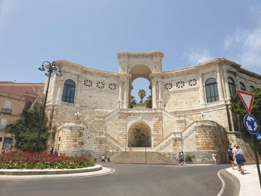 CAGLIARI Bastion Saint Remy