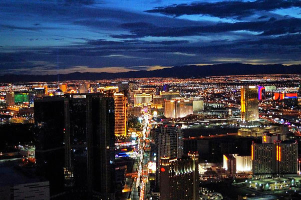 Vegas from Stratosphere Tower