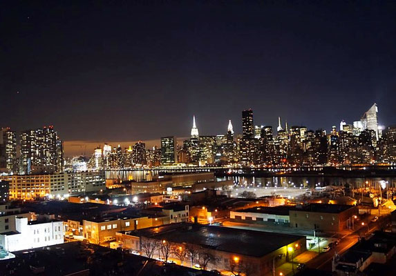 Ausblick vom Hotel Z, NYC